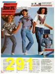 1986 Sears Spring Summer Catalog, Page 291