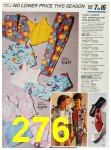 1987 Sears Spring Summer Catalog, Page 276
