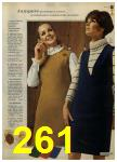 1968 Sears Fall Winter Catalog, Page 261