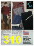 1991 Sears Fall Winter Catalog, Page 310