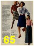 1972 Sears Fall Winter Catalog, Page 65