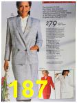 1988 Sears Spring Summer Catalog, Page 187