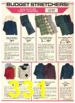 1976 Sears Fall Winter Catalog, Page 331