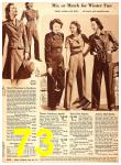 1940 Sears Fall Winter Catalog, Page 73