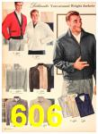 1958 Sears Fall Winter Catalog, Page 606