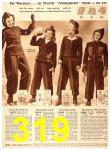 1940 Sears Fall Winter Catalog, Page 319