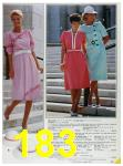 1985 Sears Spring Summer Catalog, Page 183