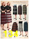 1958 Sears Fall Winter Catalog, Page 134