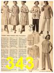 1956 Sears Fall Winter Catalog, Page 343
