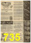 1961 Sears Spring Summer Catalog, Page 735