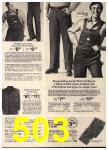 1975 Sears Spring Summer Catalog, Page 503