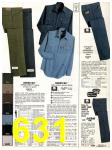 1982 Sears Fall Winter Catalog, Page 631