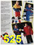 1988 Sears Fall Winter Catalog, Page 525