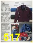1986 Sears Fall Winter Catalog, Page 517