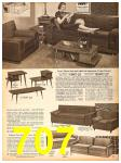1958 Sears Fall Winter Catalog, Page 707
