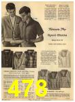 1960 Sears Spring Summer Catalog, Page 478