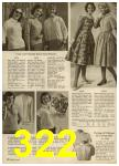 1959 Sears Spring Summer Catalog, Page 322