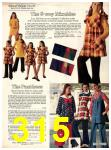 1973 Sears Fall Winter Catalog, Page 315