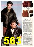 1982 Sears Fall Winter Catalog, Page 563
