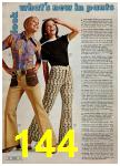 1972 Montgomery Ward Spring Summer Catalog, Page 144