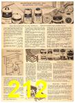 1956 Sears Fall Winter Catalog, Page 212