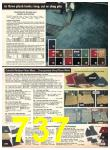 1977 Sears Fall Winter Catalog, Page 737