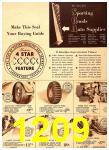 1940 Sears Fall Winter Catalog, Page 1209