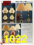 1986 Sears Fall Winter Catalog, Page 1022