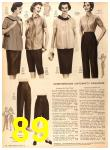 1956 Sears Fall Winter Catalog, Page 89