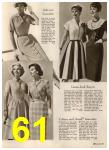1960 Sears Spring Summer Catalog, Page 61