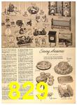 1956 Sears Fall Winter Catalog, Page 829