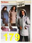 1985 Sears Fall Winter Catalog, Page 179