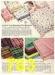 1956 Sears Fall Winter Catalog, Page 783