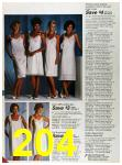 1986 Sears Spring Summer Catalog, Page 204
