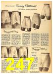 1962 Sears Fall Winter Catalog, Page 247