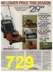 1984 Sears Spring Summer Catalog, Page 729