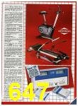 1985 Sears Fall Winter Catalog, Page 647