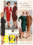 1958 Sears Fall Winter Catalog, Page 62