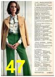 1977 Sears Spring Summer Catalog, Page 47