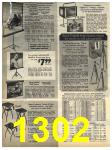 1972 Sears Fall Winter Catalog, Page 1302