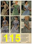 1962 Sears Spring Summer Catalog, Page 115