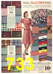1940 Sears Fall Winter Catalog, Page 733