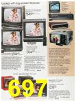 1988 Sears Fall Winter Catalog, Page 697
