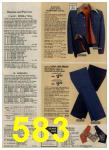 1979 Sears Fall Winter Catalog, Page 583