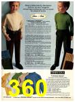 1969 Sears Fall Winter Catalog, Page 360