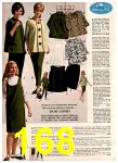1966 Montgomery Ward Fall Winter Catalog, Page 168