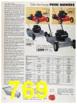 1989 Sears Home Annual Catalog, Page 769