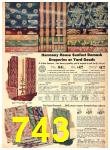1942 Sears Spring Summer Catalog, Page 743