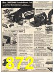 1978 Sears Fall Winter Catalog, Page 872