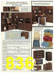 1982 Sears Fall Winter Catalog, Page 836